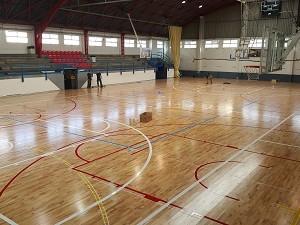 pavimento deportivo de madera