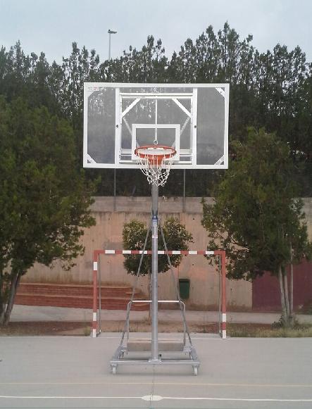 CBM10 CBM15 canasta de baloncesto
