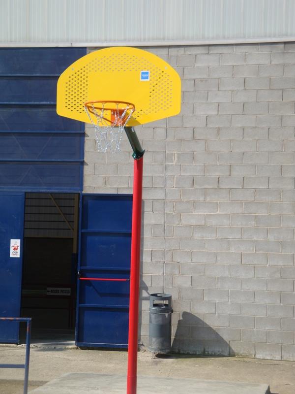 canasta de baloncesto antivandalica CBANTP1