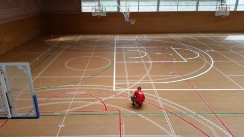 Marcaje de pistas deportivas archives tea3 equipamientos for Pista de futbol sala medidas